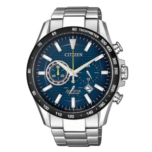Citizen Eco-Drive Solar Analog Chronograph CA4444-82L