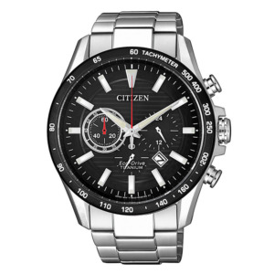 Citizen Eco-Drive Solar Analog Chronograph CA4444-82E