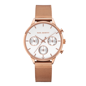 Paul Hewitt Everpulse Armbanduhr Roségold PH-E-R-W-4S